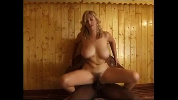 UK Slut With Hairy Pussy Gets Black Cock In A Sauna