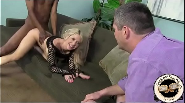 Cuckold cleans wife and then makes his little worm cum