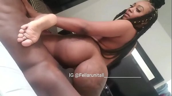 When black mom work a big cock