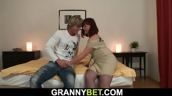 Guy picks up 60 years old granny