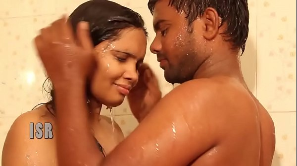 ANJALI (Telugu) as House Wife, Husband - Hot Wet Bathing Romance in BATHROOM