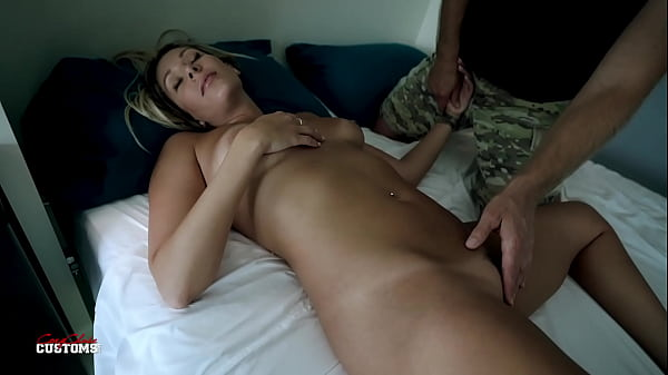 Naked Resting Step Mom - Nikki Brooks - Natural Tits