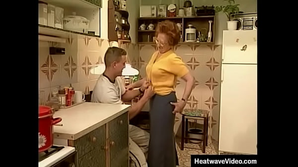 Young boy is strong and muscular, and could probably get any woman that he wanted - but he's a geek for mature sluts, so today he is going to fuck sexy older lady!