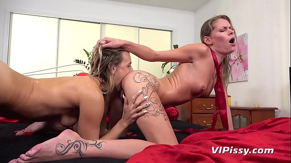 Babes In A Raunchy Pissy Production
