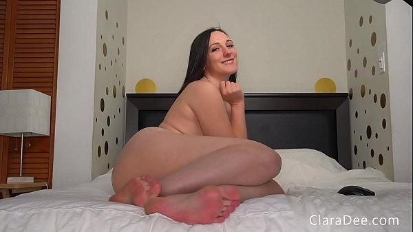 Chastity Games 15 - 5 Seconds to Stroke - Clara Dee Feet JOI Game - PREVIEW Thumb