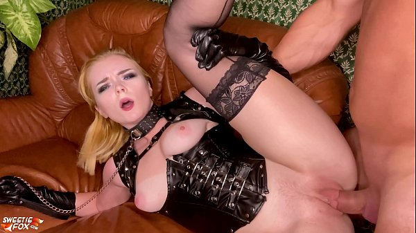Boyfriend Facefuck and Hard Doggystyle Fucking Girl - Soft BDSM