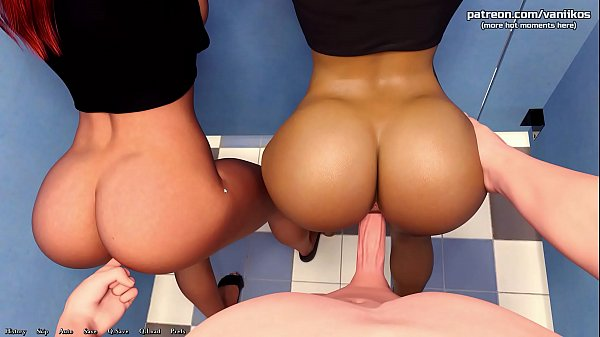 Being a DIK | Two hot college teens with big as...