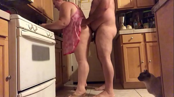 Wife in kitchen