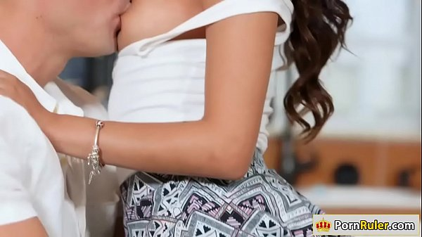 Hot latina Sophia gets a welcome fuck