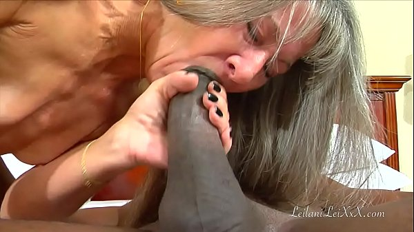 Just Fucking – interracial creampie milf
