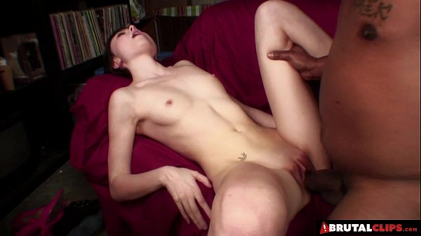 BrutalClips - Cock bigger than her forearm goes in to the balls