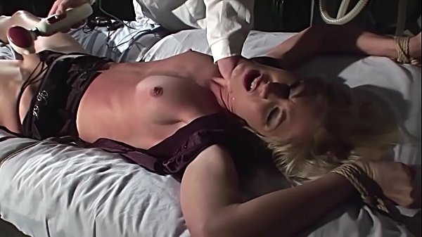 Kinky therapies for slaves serial. Part 1: Super hot girl Cindy extremly excited while she gets her special treatement.