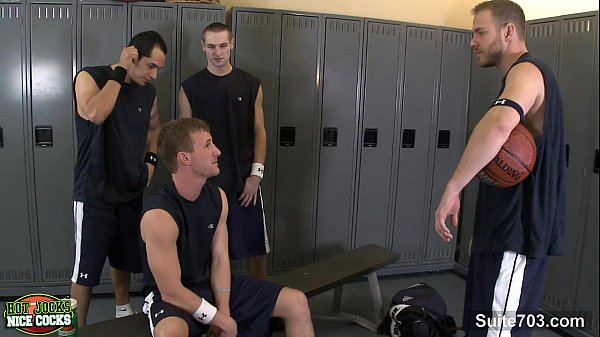 Sexy jocks screwing their asses in the classroom