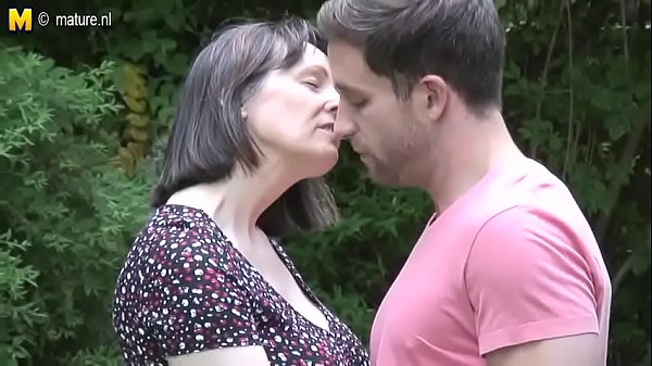 Mom And Son Enjoy Together In Natural Surroundings Outdoors Thumb