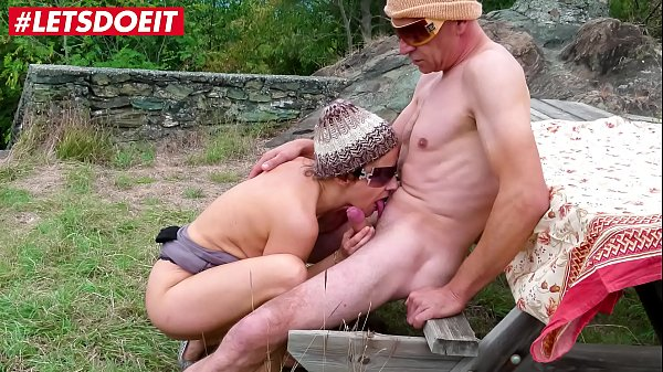 LETSDOEIT - Mature Wife Rides A Big Cock Outdoors