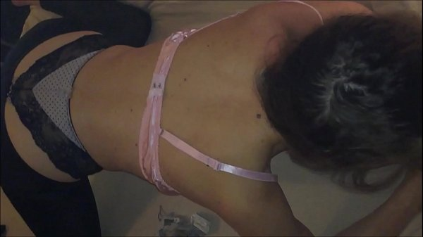T&A 570 - Doggystyle Blowjob From a Whore Clothed in a Sexy Satin Lingerie