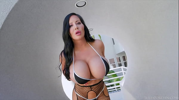 JulesJordan.com - Sybil Stallone Sets A Big Titty Trap For Manuel