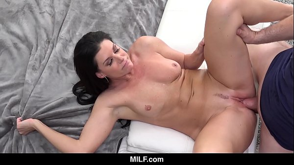 "MILF - India Summer Tests Out Her New ""Stepdad"""