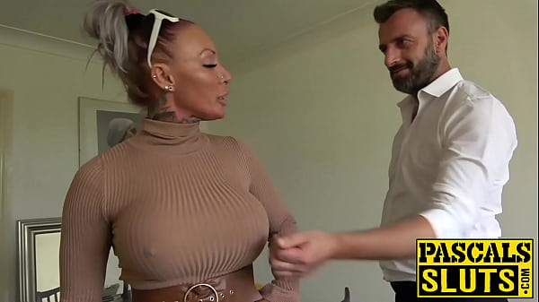 Busty MILF succubus analled roughly before eati...