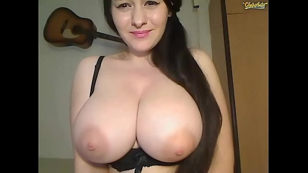 Massive Boobs masturbating