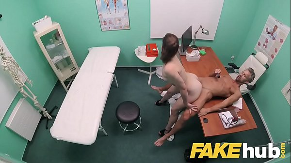 Fake Hospital Dirty Doc stuffs his big dick into patients tight wet pussy Thumb