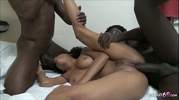Ebony Teen Luna Corazon 3Some by 2 BBC and Best Friend film