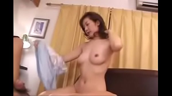 39yr Old Japanese Mom Loves Her Sons Cock