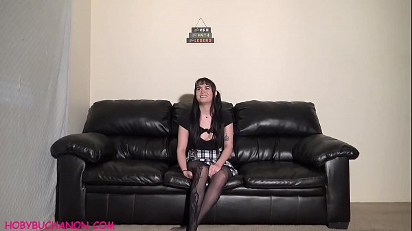 1st Time Submissive Amateur Ruby Throat Fucked Roughly