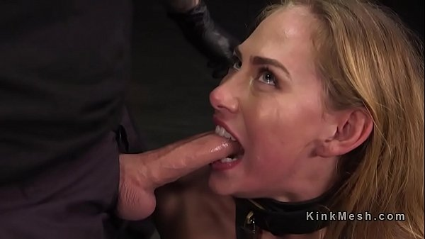 Blonde beauty paddled and fucked Thumb