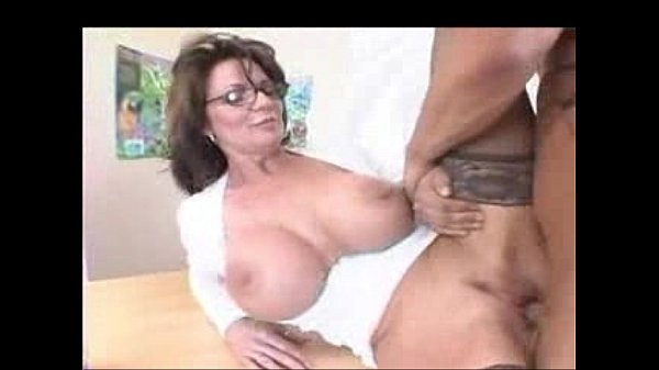 Busty Milf Teacher in Stockings Fucks