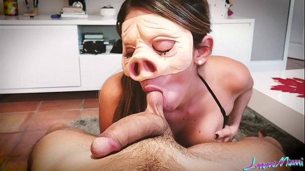 PIG MASK BLOWJOB