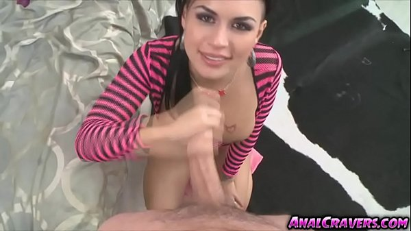 Sweet lovely Eva Angelina wanted large huge dick in her ass