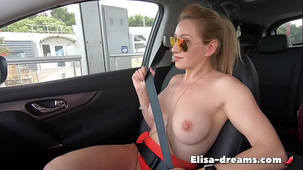 Masturbation in my car and at beach in front of voyeurs