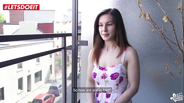 FIRST TIME porn audition with sexy squirting Canadian Teen Thumb