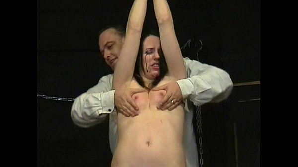 Teen slavegirl Lyarah tied and tormented to tears using electro shock punishment