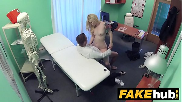 Fake Hospital Fit blonde sucks cock so doctor gives her bigger boobs Thumb