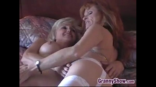 Very Old Lesbians Having Some Oral Fun
