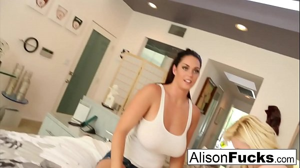 First time meeting then fucking with Alison Tyler and Samantha Saint