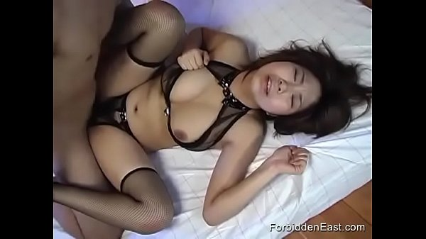 Leather Lingerie For Kinky Asian Submissive Slut