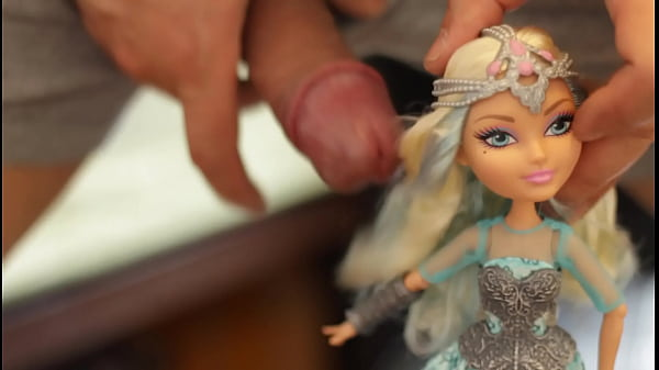 Ever After High Darling Charming warrior doll is SEDUCED by my cock and becomes a Mind Broken COCK SLAVE