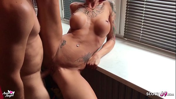 Condom Slide Off while Fuck German Redhead Teen Hooker Anni