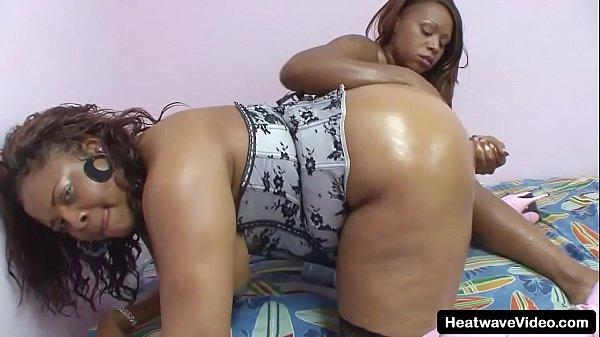 Get ready for fat black lesbians women in lingerie with big titties and a whole lotta oil