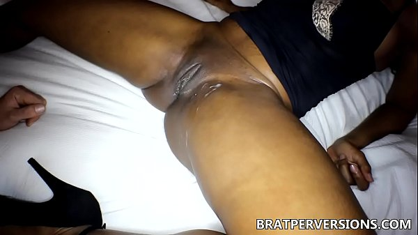 Ebony Cuckoldress Impregnated by her Ex - Jet S...