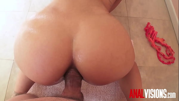 Bathroom Doggystyle Anal Gina Valentina