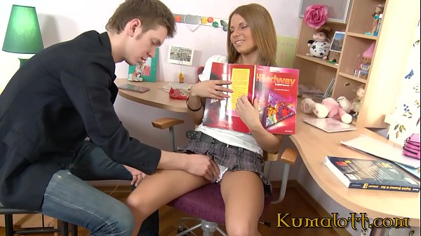 Kumalott - Super Hot Teen Analized by Young Looking Step-Bro