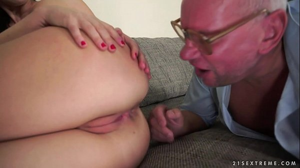 Tina Kay got assfucked by a grandpa
