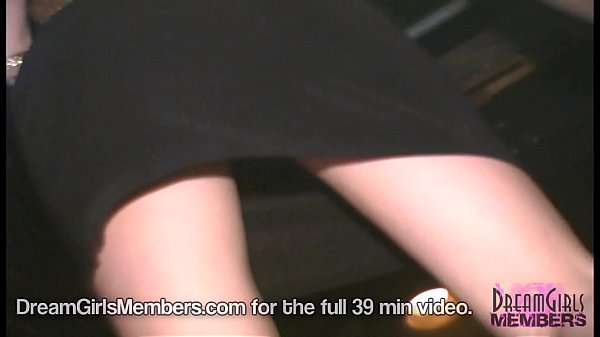 Hot Upskirts & Girls Getting Naked At A Local Bar