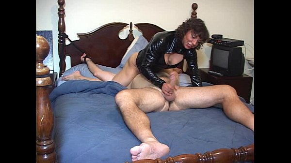 Mistress plans to turn man on and give him no pleasure in the end