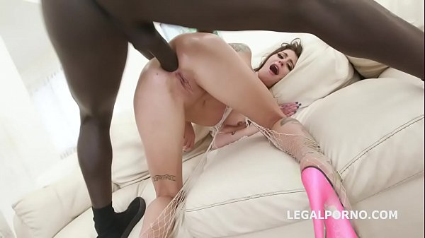 Blackbusters 5on1 with Kacie Castle Balls Deep Anal / DAP / Gapes / Crampie Swallow GIO880 Thumb