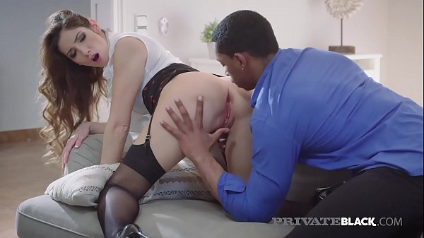 Private-Black - Hot Clea Gaultier Banged By Big Black Cock!